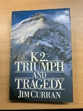 "1987 1ST EDITION ""K2, TRIUMPH & TRAGEDY"" MOUNTAINEERING HARDBACK BOOK (P4)"