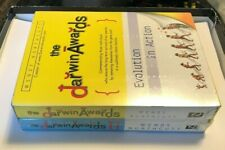 The Darwin Awards : Evolution in Action Wendy Northcutt 2002 Hardcover Book Pair