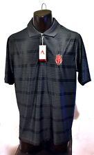 ARKANSAS RAZORBACKS Antigua Men's Polo Shirt (Sz L/Large) 100% Polyester NCAA