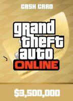 GTA V SHARK CARD PS4 Grand Theft Auto Online $3,000,000 (READ DESCRIPTION)