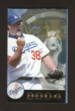 Eric Gagne--Los Angeles Dodgers--2004 Spanish Pocket Schedule--Budweiser
