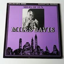 Miles Davis - Miles of Fun - Vinyl LP UK 1st Press 1980 EX/NM