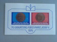 Liechtenstein 1976 SG#MS635 Prince F. Joseph II MNH M/S