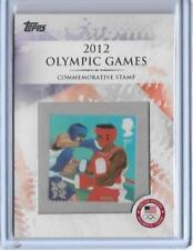 RARE 2012 TOPPS OLYMPIC COMMEMORATIVE STAMP CARD #CS-20 ~ BOXING ~ MULTIPLES