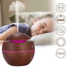 Aroma Essential Oil Diffuser Ultrasonic Aromatherapy Humidifier Wood Grain J
