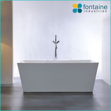 1500 Mayfair Freestanding Bath Tub Bathtub Square Elegant Bathroom NEW!
