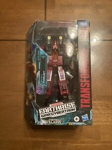 Transformers Earthrise WFC Thrust Target Exclusive Boxed Complete