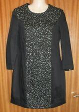 "FCUK BLACK ""STARSTRUCK"" BEADED DRESS SIZE 8 BNWT"