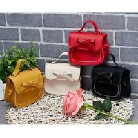 Baby Kids Girls Lovely Mini Messenger Bag Cute Bow Purses Handbags Shoulder Bags