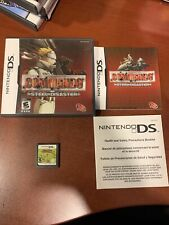 Commando: Steel Disaster Nintendo DS NDS COMPLETE RARE