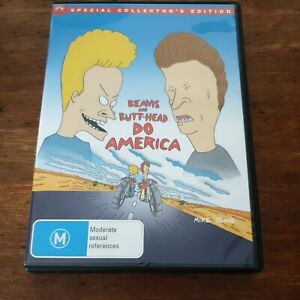 Beavis and Butthead Do America SPECIAL COLLECTOR'S EDITIONR4 Like New! FREE POST