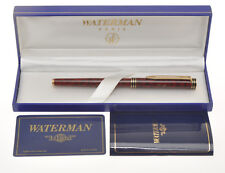 Waterman Exclusive stilo lacca tartaruga tortoise FP 18k nib exc+++ in box