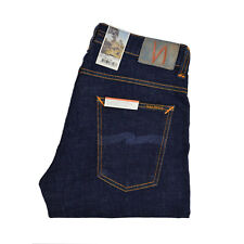 Nudie Jeans Tight Terry Rinse Twill Dark Blue 112455 Tight Anti Fit L32 W32