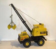 Vintage 1970s Tonka Turbo Diesel Crane Clam Shell Toy Truck