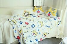 Shiba Inu Cartoon fleece blanket Baby Kids Warm Soft All over Printing 100x95cm
