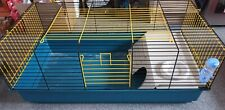 Large Cage Pet Rodents L96cm W48cmH42cm Hamster Rabbit Guinea Pig Ferret Cat Dog
