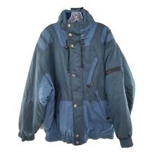 Killy Sport Master Tech Ski Snow Jacket Reflective Blue Men's Size 40