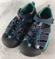 KEEN Newport H2 Midnight Navy Baltic Water Sandals 1012316 Big Kids Size 4 US