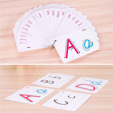 26 Letter Flashcards Flash Cards Kids Early Learning Montessori Card ON SALE