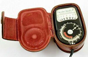 Vintage Weston Master II Universal Exposure Light Meter - Fully Working  #W165-2