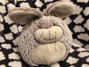 "Jellycat Furball Rabbit Plush Soft Toy Comforter Jelly Cat Bunny 8"" Fur Ball"