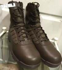 Brown British Army Issue Bates Lightweight Tactical Combat Boots Male 14M BT214M