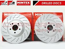 FOR  MERCEDES-BENZ W205 C-CLASS C63 AMG FRONT BRAKE DISCS A0004212012 X2 NEW