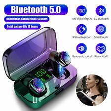 Mini TWS Wireless Bluetooth 5.0 Headphones Headset Stereo Touch Earphone Earbuds