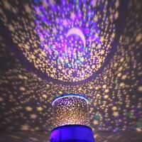 Magic Starry Sky Night Kids Gift LED Projector Lamp Star Night Light Cosmos