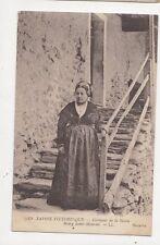 Costumes de la Savoie Bourg Saint Maurice 1917 France Postcard 273a