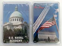 U.S. Naval & Air Force Military Academy - 2 Decks Poker Playing Cards NEW sealed