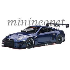 AUTOart 81584 NISSAN SKYLINE GT-R NISMO GT3 1/18 MODEL AURORA FLARE BLUE PEARL