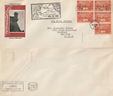 More details for us 1935 pan am first trans pacific flight cover manila to san francisco fam 14