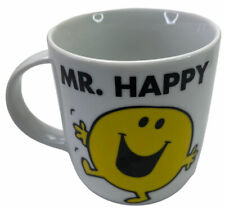 Mr Men Mr Happy Ceramic Coffee / Tea Mug 370ml 2013