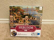 New TCG Heronim Collection Bridges of San Francisco 500 piece jigsaw puzzle