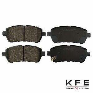 FRONT Premium Ceramic Disc Brake Pad Set For Ford Fiesta Mazda 2 KFE1454-104