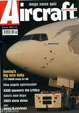 Aircraft Illustrated 2003 January RAAF,Canjet.Blue Angels,Boeing 777.Maersk Air