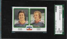 1979 PANINI HOCKEY STICKER CARD JUG BOJAN KUMAR TOMAZ KOSIR SGC 8.5 NMT+ STICKER
