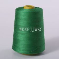 8000 Yards Gras Green Industrial Overlock Sewing Machine Polyester Thread Sewing