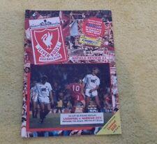 173) Liverpool v Norwich City fa cup 31-1-1990