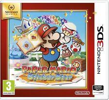 PAPER MARIO STICKER STAR SELECT JEU 3DS NEUF