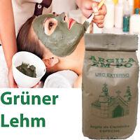 GRÜNE grüner lehm  Pulver Gesichts Masken Peelings Haare Badezusatz 1 kg .