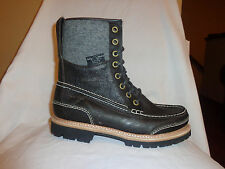 NEW WOOLRICH Single Amputee Black Leather Ankle Mens Chukka Right Boot 9 D