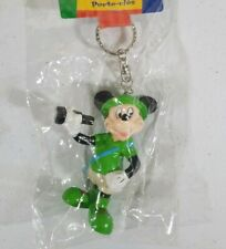 "Disney Mickey Mouse Explorer 3-D Key Ring 3"" PVC Sealed Rare"