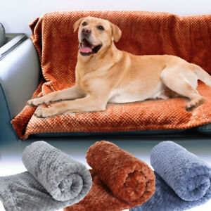Warm Plush Dog Bed Blanket for Large Dogs Thickened Pet Soft Wool Mat Mattress