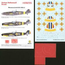 Techmod 1/48 Messerschmitt Bf 109G-2 # 48072
