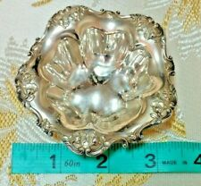 **Vintage** Sterling REED & BARTON Repousse Nut / Bon Bon Dishes Set of 5!!