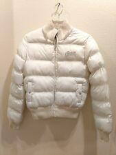 GUESS Size Medium Ivory  Winter Puffer Jacket
