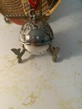 Reed & Barton Silverplated Holly Ball 1976 Excellent