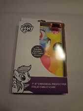 """My Little Pony Multi-Color Universal 7"""" to 8"""" Protective Folio Tablet Case (E5)"""